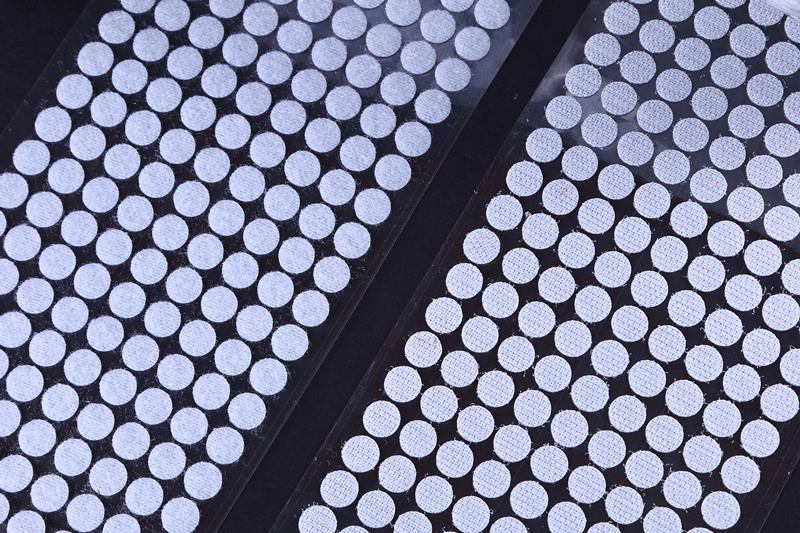 50 Pairs 10 15 20 25mm Hook Loop Tape Disc Coin Self Adhesive Fastener Tape DIY handmade Black White Strong Glue Magic Sticker in Adhesive Fastener Tape from Home Garden