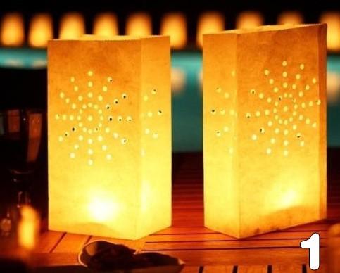 1 Conew2387 Hot Sale Very Simple Square Lanterns DIY Handmade Paper