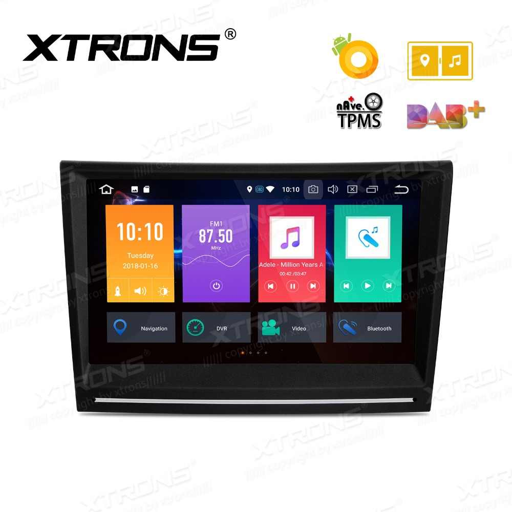 XTRONS 8 ''Android 8.0 Rádio Car DVD Player GPS para 911 Porsche Cayman 997 987 2005 2006 2007 2008 boxster 987 2005-2012