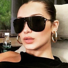New Fashion Flat Top Sunglasses Woman/Men Brand