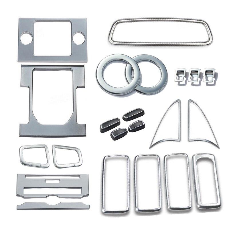 Accessoires De Voiture Intérieur Ensemble Intérieur Couverture Garniture 22 pcs Pour Land Rover LR4 Discovery 4 2010 2011 2012 2013 2014 2015