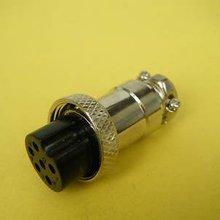 Conector de micrófono Vintage de alimentación de Radio de 6 pines 50 piezas