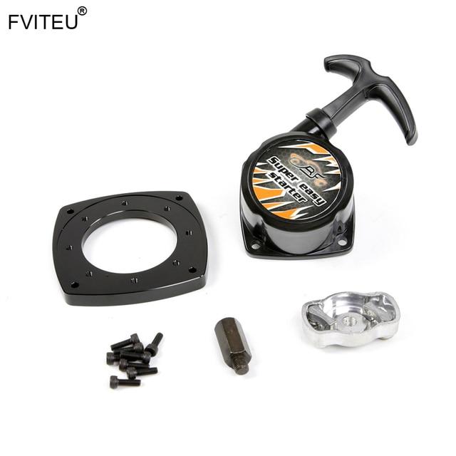 FVITEU New Super easy pull starter set for 23cc 26cc 29cc 30.5cc Engine Zenoah CY for 1/5 HPI Rovan KM Baja 5B 5T 5SC