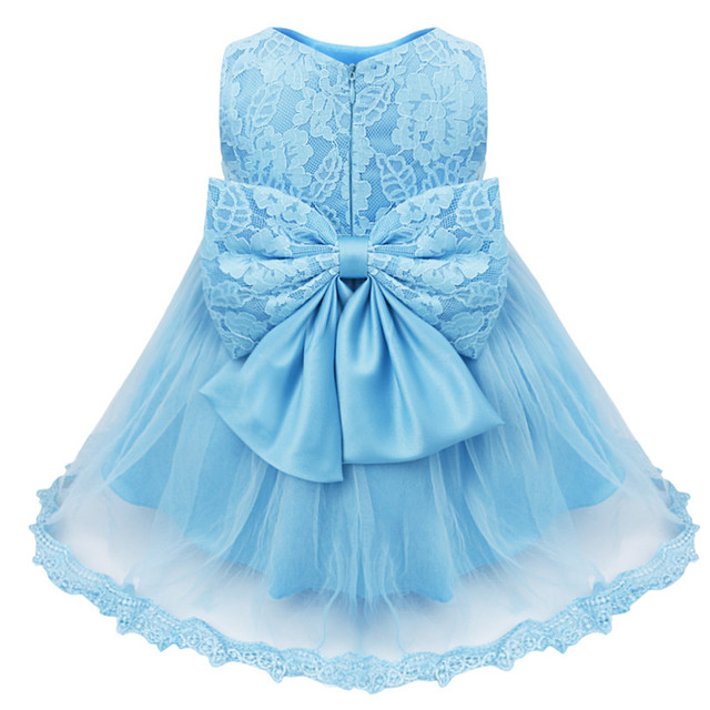 Floral Lace Baby Girl Communion Dresses