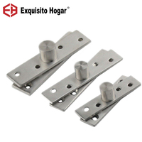 Stainless Steel Doors Hinges Under 360 Degree Rotating Shaft Rotation Positioning Concealed Cabinet Hinge Fitting