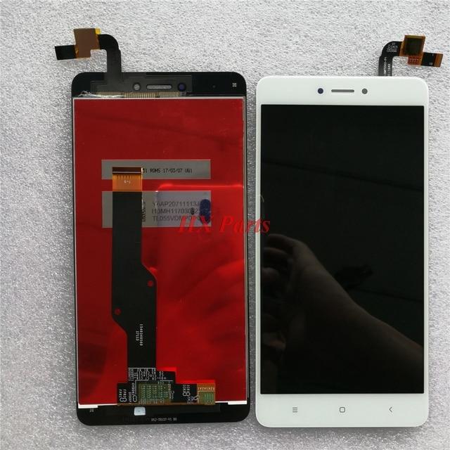 を xiaomi redmi 注 4X lcd ディスプレイ + タッチスクリーンデジタイザガラスパネルの交換部品コリア注 4X