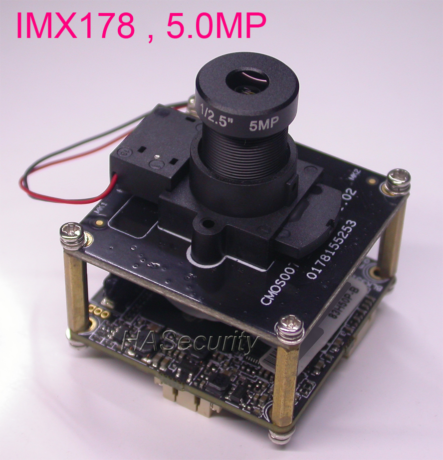 H 265 H 264 5 0MP 1 1 8 SONY IMX178 Hi3516A IP CCTV camera PCB