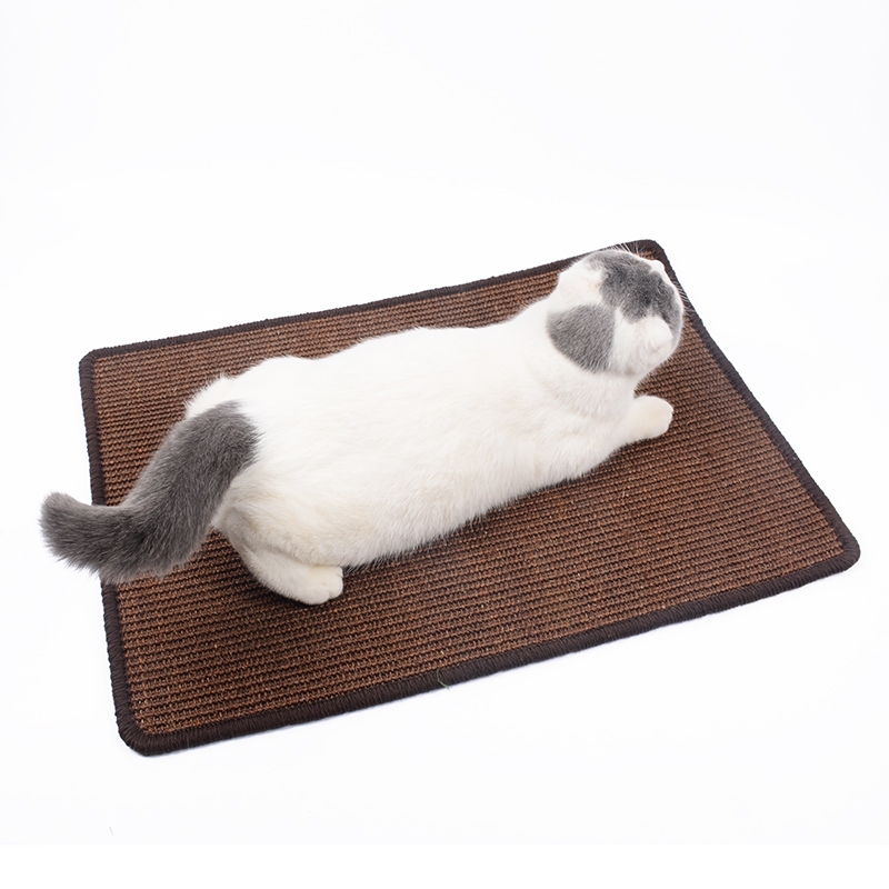 Natural Sisal Cat Tree Scratcher Pad Bed Board Lounger