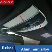 Cnoricarc автомобилей лампа декоративная рамка потолочный плафон отделкой в полоску для Mercedes Benz E Class W212 E180 200 260 300 2010-15