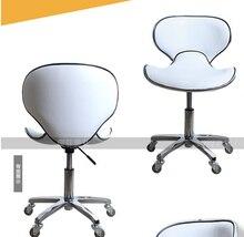 Creative bar chair. Beauty salon pulley stool. Swivel chair master chair. Technician chair.