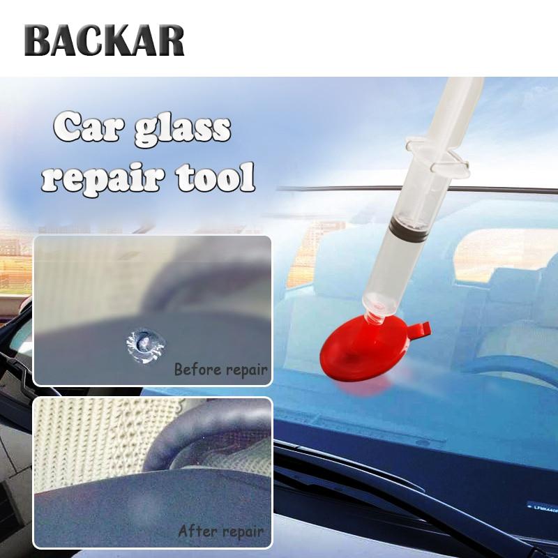 BACKAR Car styling Glasses Windshield Repair Tool Kits Stickers For Kia rio ceed sportage 2017 Mercedes Benz W203 W204 Mazda 3 6