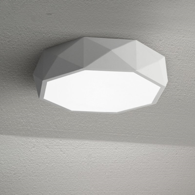 Learned Omicron Creative Led Ceiling Lights Brown Frame Minimalism Acrylic Lamp For Bedroom Living Room Home Lighting Lamparas Lights & Lighting Ceiling Lights & Fans