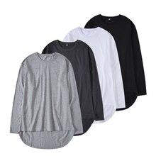 QoolXCWear T-Shirts Cotton Oversized Fashion Hip Hop Dress Tee Solid Loose Fit Basic Unisex Couple
