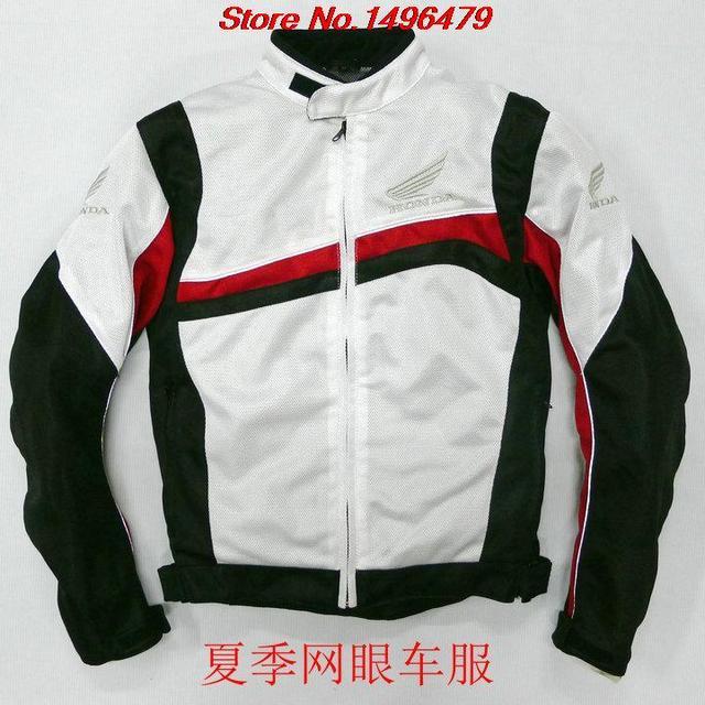 2016 nueva barato material de malla transpirable envío libre ropa de la motocicleta chaqueta de la motocicleta del coche-chaquetas de moto