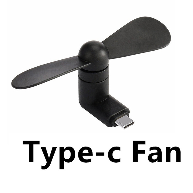 Type-c Flexible Mini Cool Hand Fans for Xiaomi 4c 5 5s 6 Huawei P9 P10 Soft Type C Jack Interface Mobile Phone Fan Typec