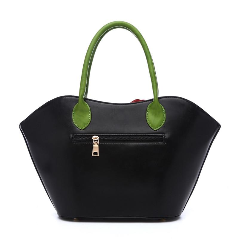 Luxury Handbags Women Bags Designer 2017 Fashion Flower Big Tote Bag High Quality Leather Vintage Ladies Hand Bags Famous Brands