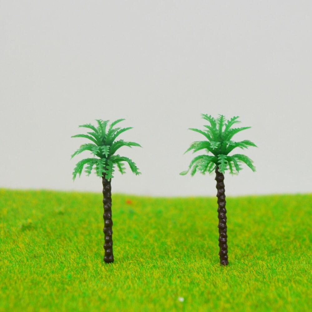 3cm scale model seaside palm trees Miniature Model Trees For MODEL Landscape Train Railway Park Scenery
