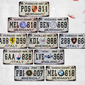 15x30 cm vintage license plates 911 GERMANY LISENCE CAR PLATE Vintage Tin Sign Bar pub home Wall Decor Retro Metal Art Poster