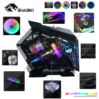 Bykski B HTRGB EX Water Cooling Kit CPU/GPU Hard Tubing DIY Whole Set Cooler Solution Radiator Heatsink RBW/RGB Customize