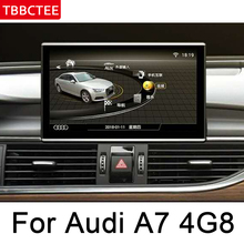For Audi A7 4G8 2010~2017 MMI Car Android GPS Navigation Multimedia player AUX USB stereo touch Screen Bluetooth original style