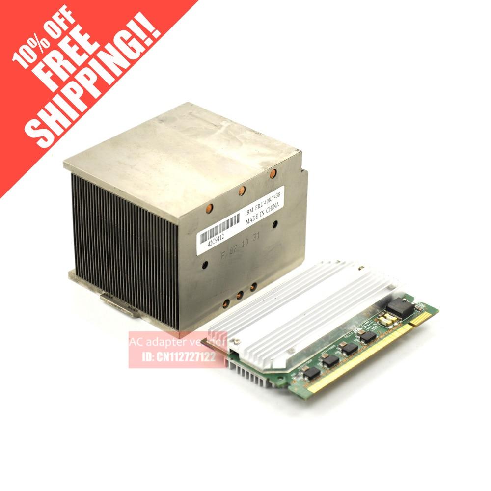 FOR IBM CPU upgrade kit X3650 X3400 X3500 Server VRM+ radiator 39Y7298 for ibm x3550 x3650 x3500 x3400 8k raid5 array card 25r8076 25r8088