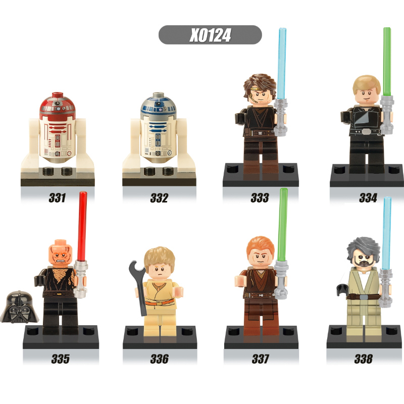 Rational Single Sale Figures R2d2 Old Luke Child Anakin Skywalker Jedi Knight Sith Warrior R4p17 Legoingly Building Blocks Model Toys We Have Won Praise From Customers Blocks Model Building