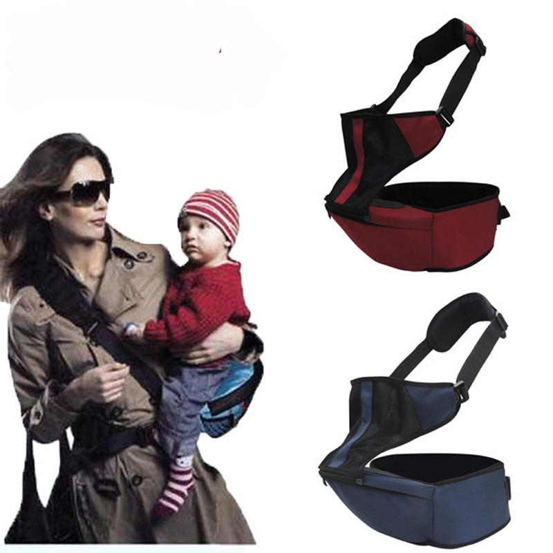 ФОТО New fashion baby newborn adjustable infant carrier baby multi functional waist stool carrier for mother