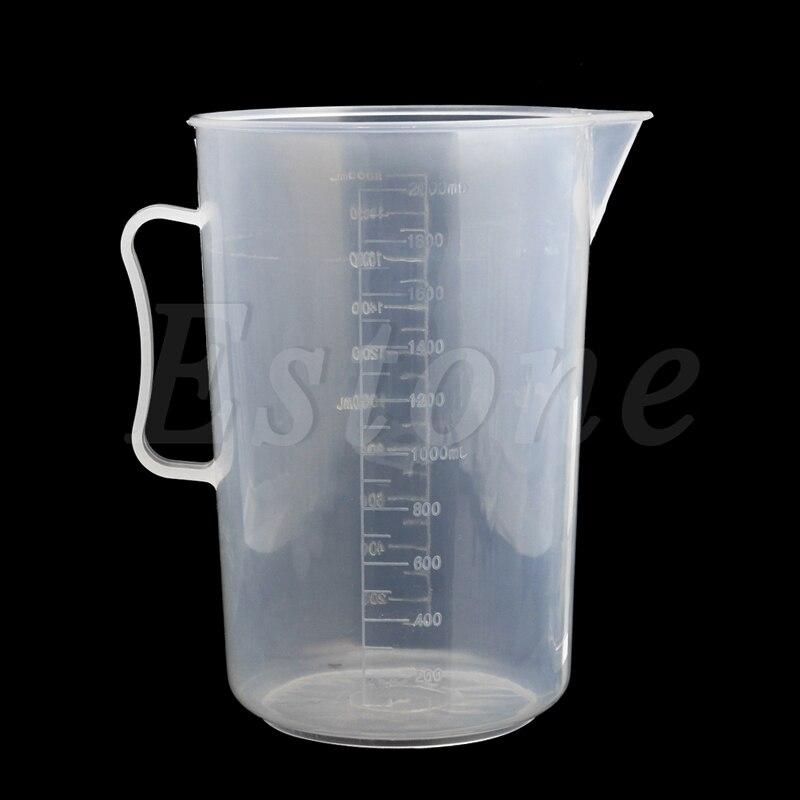 Пластиковый мерный кувшин 150/250/500/1000/2000 мл, Налейте Носик на поверхность кухни