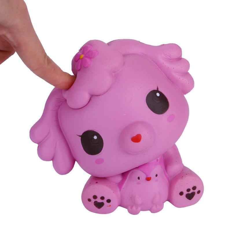 Jumbo dogs Squishy Charms Milk Bag Toy Slow Rising for Children Adults Relieves Stress Anxiety Cabinet Decor t312