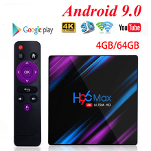 H96 MAX Android Smart TV Box Wireless IPTV Box youtube 4K USB Set Top Box 2.4G/5G WiFi Netflix Youtube Google Play Media Player все цены