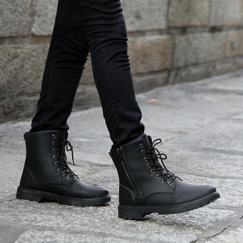 Aliexpress.com : Buy Free shipping Retro Combat boots men's boots ...