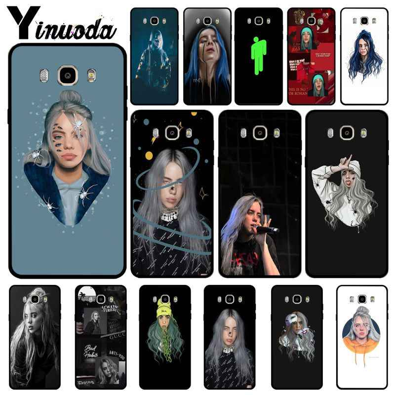 Yinuoda Billie eilish rainbow blohsh Ocean Eyes Love สำหรับ Samsung J6 2018 J7 2018 J4 2018 J7 2017 j8 2018 Coque Shell