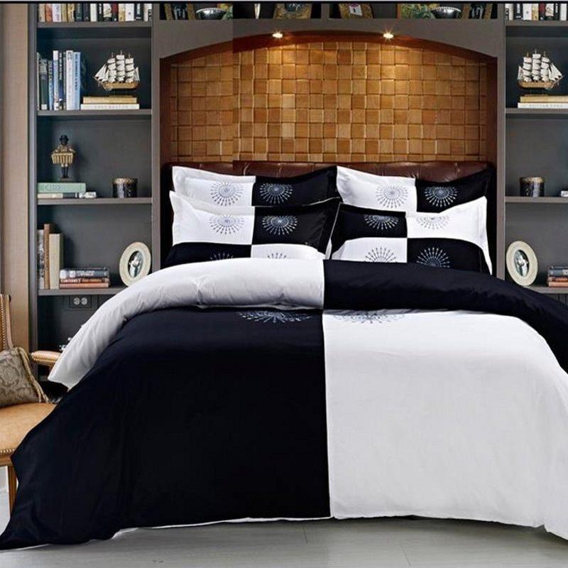 king bg sets set and black comforter red size