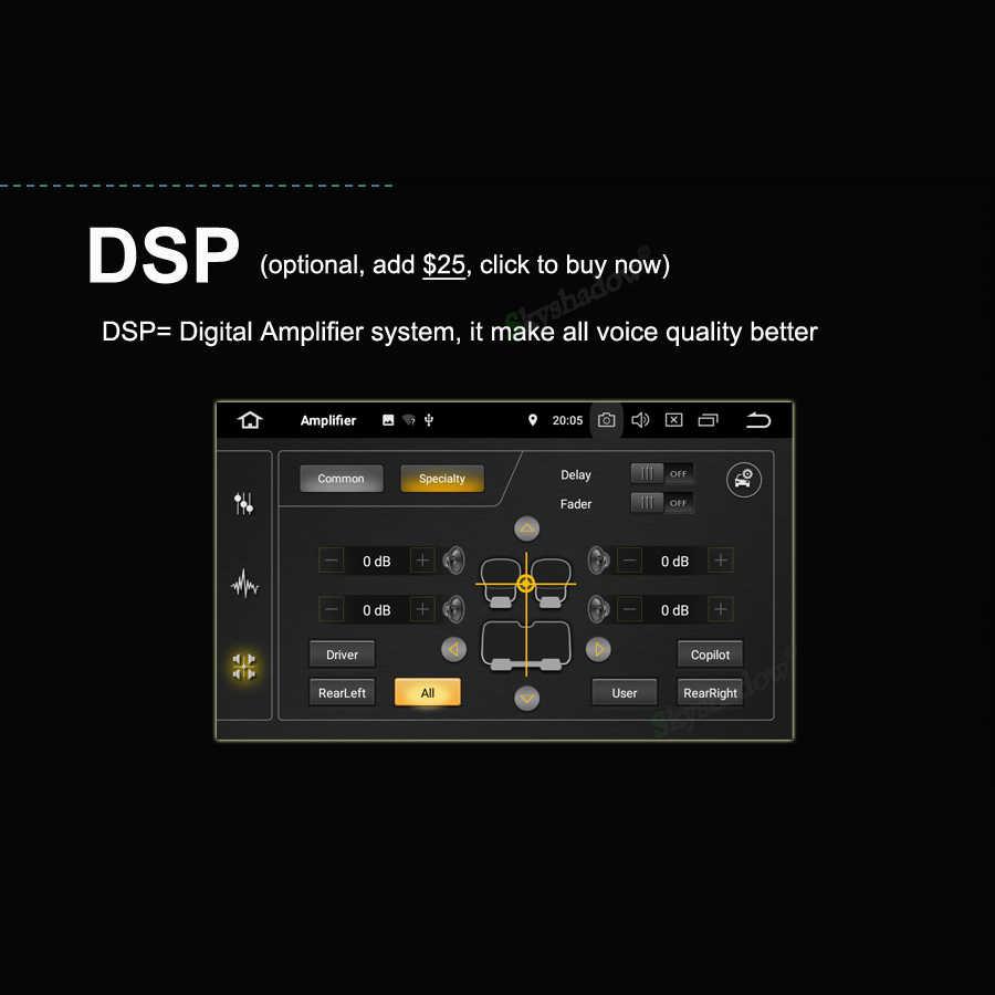 DSP TDA7851 Android 9,0 8 Core 4 Гб + 64 Гб автомобильный DVD плеер Wifi радио RDS gps карта ТВ DVR камера OBD для VW TOUAREG 2010-2015 2016
