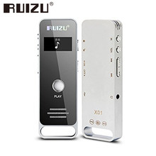Original RUIZU X01 8 Gb Mini Deportes Reproductor de MP3 de Metal Mp3 Música Lossless Ocultos de Audio Digital Grabadora de Voz Pluma Con altavoz