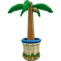 Inflatable Palm Tree Cooler Party Supplies Beverage Buckets Holders Luau Holiday Supplies Water Pool Toys 5.4 Feet Tall
