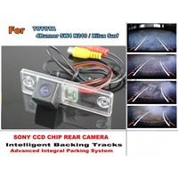 For TOYOTA 4Runner SW4 / For TOYOTA Hilux Surf Smart Tracks Chip Camera HD CCD Intelligent Dynamic Tragectory Rear View Camera