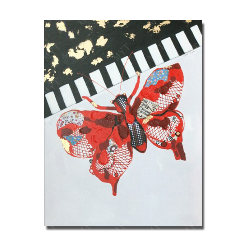 Popular butterfly paintings for sale buy cheap butterfly for Cheap canvas paintings for sale