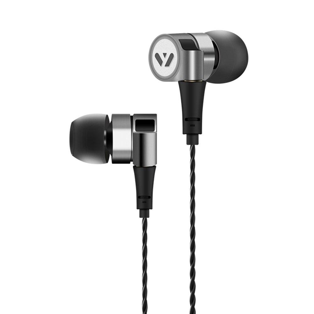 100% New FEN-2000 1.2M Hybrid Drive Unit earphone HiFi Bass sound sport earpiece with MMCX Interface as K3003 original senfer pt15 flat earburd earphone graphene dynamic driver unit hifi earplug with mmcx interface replaced line headsets