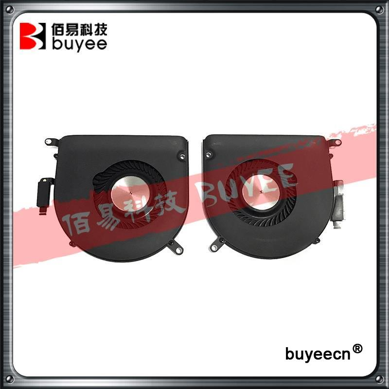 Original A1398 Fans Set CPU Cooling Fan Left + Right Set 2015 Year For Macbook Pro Retina 15'' MJLQ2 MJLT2 Replacement