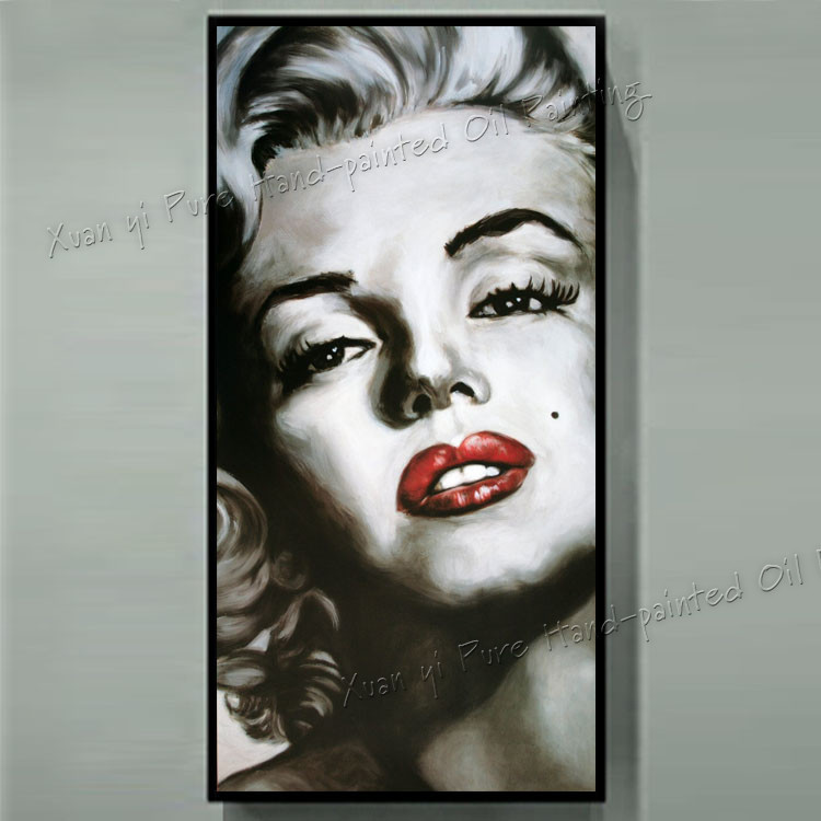 Buy painting marilyn monroe and get free shipping on AliExpress.com