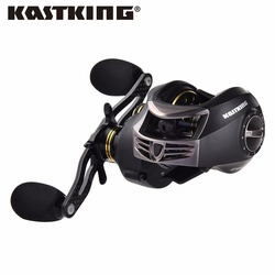 KastKing Stealth 11+1BB Carbon Body Right Left Hand Bait Casting Carp Fishing Reel High Speed Baitcasting Pesca 7.0:1 Lure Reel
