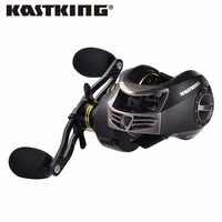 KastKing Stealth 11 + 1BB cuerpo de carbono derecha izquierda cebo de fundición carpa carrete de Pesca de alta velocidad Baitcasting Pesca 7,0: 1 atraer carrete