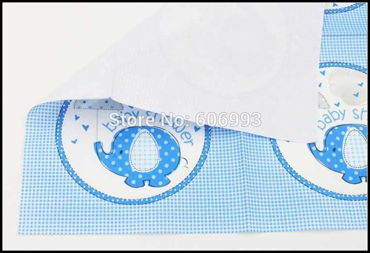 [RainLoong] Слоник для детского дня рождения бумажные салфетки с рисунком салфетка для декупажа Festas Tissue Servilleta 33 см * 33 см 20 шт./упак./лот