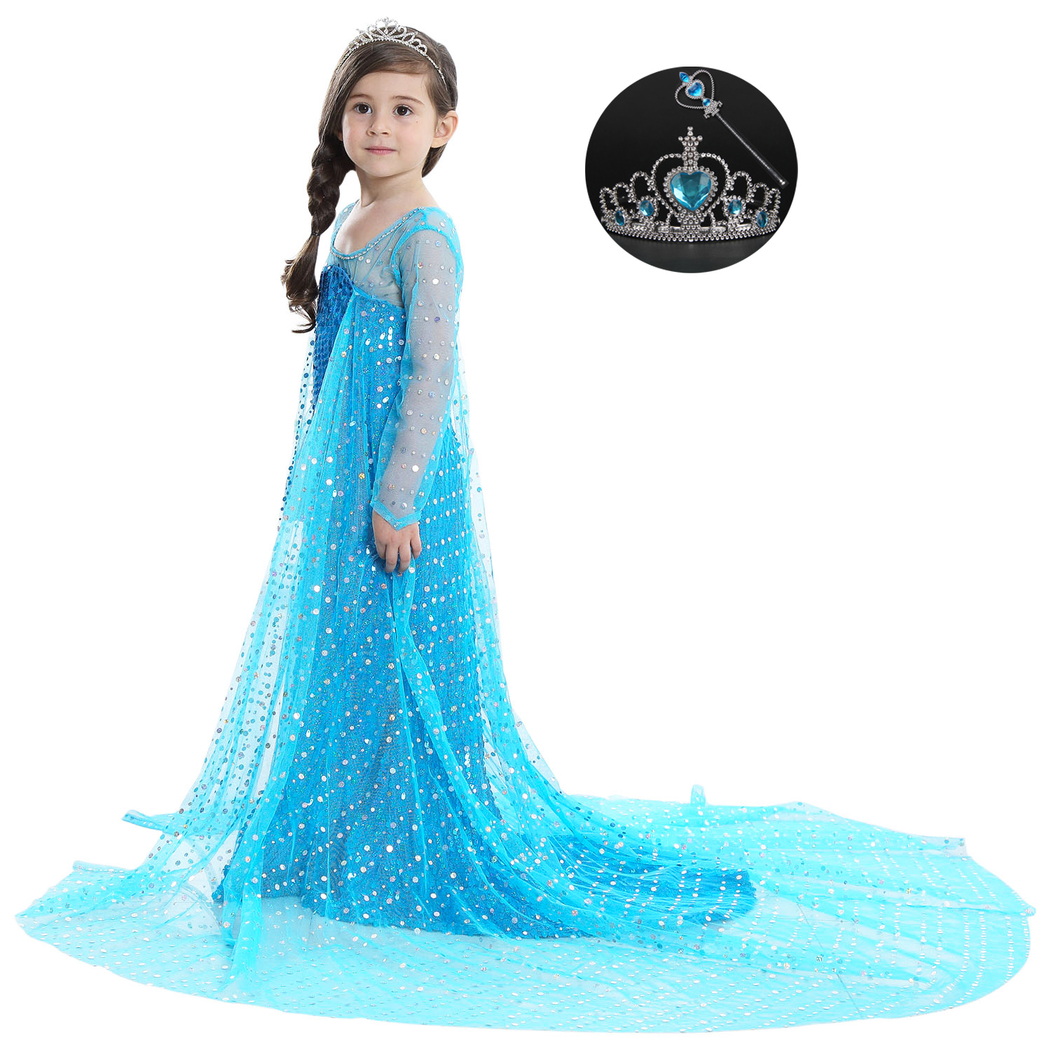 Baby Birthday Costume Carnival Kids Halloween Fancy Dress 4 5 6 7 8 9 10 11 12 Year Girls Cartoon Characters for Kids Parties swarovski octea nova 5295326