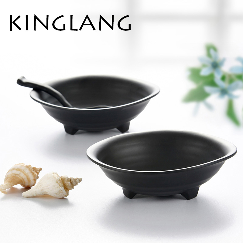 KINGLANG Free shipping Tradition orential design bowl,soup bowl,a-stage resin,plastic bowl ,nice bol