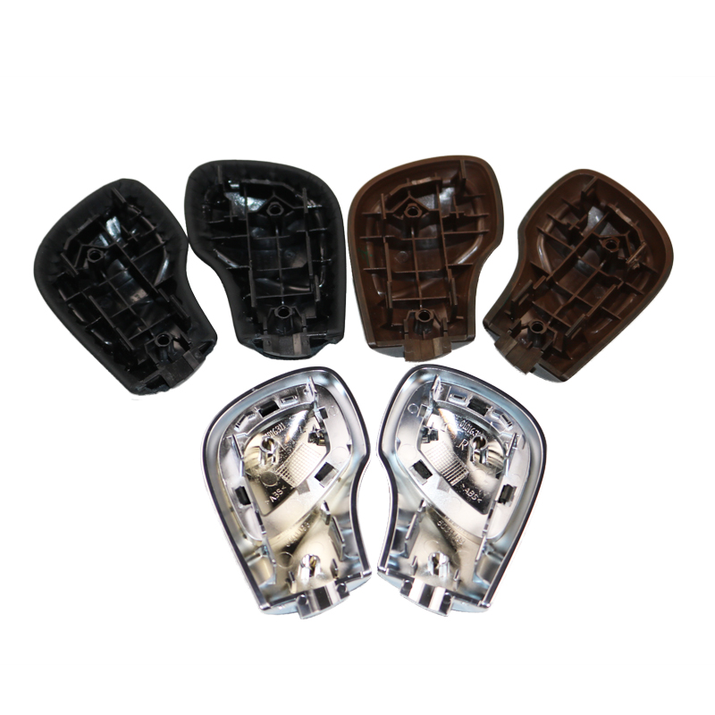 Image 2 - DAZOO Chrome Matt With Leather DSG Shift Knob Gear Side Cover DSG Emblem For V W Golf 6 7 R Passat B7 B8 CC R20 J etta MK6 GLI-in Gear Shift Knob from Automobiles & Motorcycles