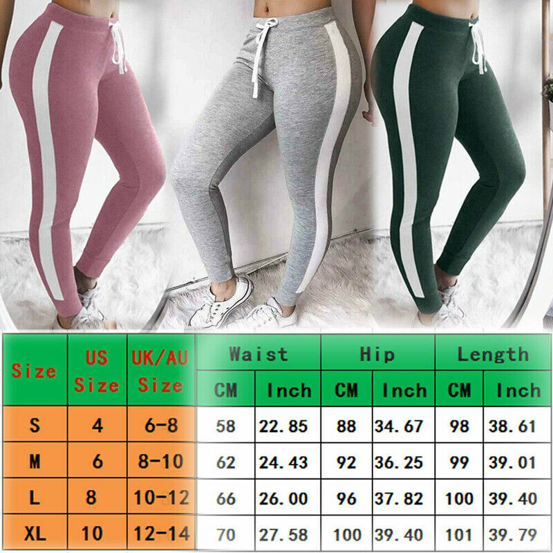 Haby Women/'s Sportswear Set Gym Outfit V-Neck Top Leggings Pants