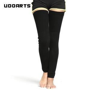 Image 1 - Udoarts แคชเมียร์เข่า/ขาอุ่น EXTENDED Version(1 คู่)
