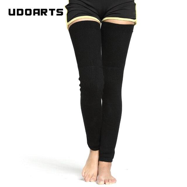 Udoarts แคชเมียร์เข่า/ขาอุ่น EXTENDED Version(1 คู่)